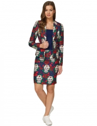 Fato Mrs. Skull Day of the dead mulher Suitmeister™