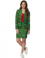 Fato Mrs. Pinheiro verde mulher Suitmeister™