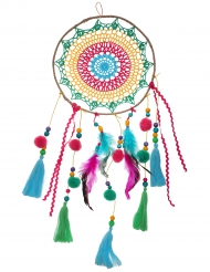 Apanha-sonhos México multicolor 58 cm