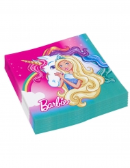 20 Guardanapos de papel Barbie Dreamtopia™