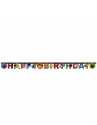 Grinalda de cartão Happy Birthday Smiley World™