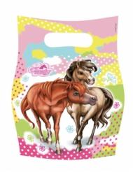 6 sacos de festa Charming Horses