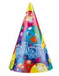 6 Chapéus de festa Party