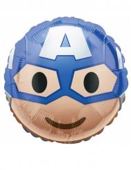 Balão alumínio Captain America™ Emoji™