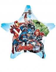 Balão gigante estrela alumínio Avengers™ 81 x 81 cm