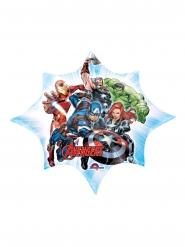 Balão estrela alumínio Avengers™ 27 cm