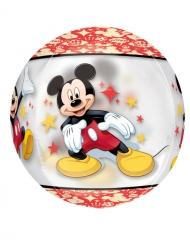 Balão redondo alumínio Mickey™ 38 x 40 cm