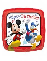 Balão quadrado Happy Birthday Mickey™