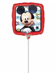 Pequeno balão alumínio quadrado Mickey™