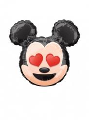 Balão alumínio cabeça de Mickey Emoji™