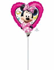 Balão coração alumínio Minnie™