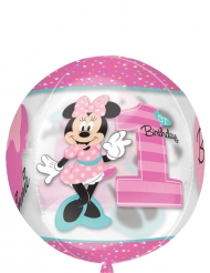 Balão alumínio redondo Minnie™