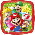 balão quadrado alumínio Super Mario™