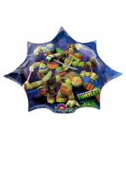 Balão estrela alumínio Tartarugas Ninja™