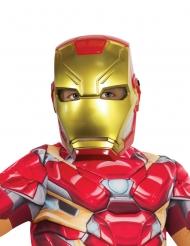 Meia máscara de plástico Iron Man™