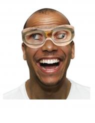 10 Pares de óculos de cartão Goggle Eyes