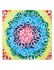 Bandana Hippie Peace colorida