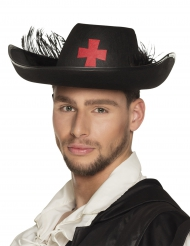 Chapéu cavaleiro mosqueteiro adulto