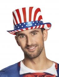 Chapéu alto USA de luxo adulto
