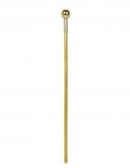 Bengala dandy dourada 92 cm