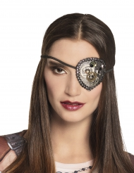 Tapa-olho steampunk mulher