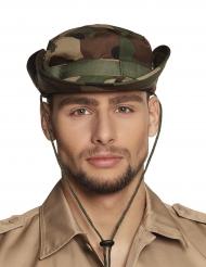 Chapéu camuflagem militar adulto