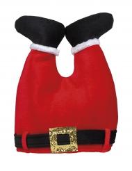 Chapéu calças de Pai Natal adulto