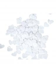 Confetis Corações brancos 20 gr