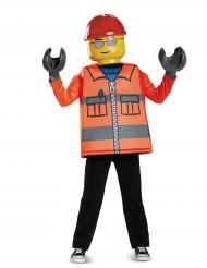 Disfarce menino Trabalhador da construção LEGO®
