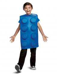 Disfarce bloco Lego® azul criança