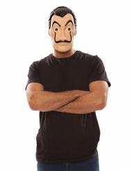 Máscara ladrão La Casa de Papel™ adulto
