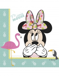 20 Guardanapos de papel Minnie™ Tropical