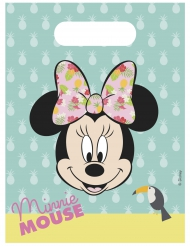 6 Sacos de festa Minnie™ Tropical