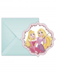 6 Convites com envelopes Disney Princess™