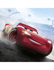 20 Guardanapos de papel Cars 3™ 33 x 33 cm