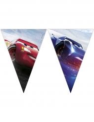 Grinalda 9 bandeirolas Cars 3™ 2.3 m x 25 cm