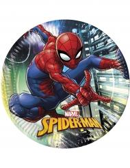 8 Pratos de cartão Spider-man™