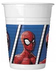 8 Copos de plástico Spider-man™