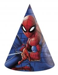 6 Chapéus de festa Spiderman™