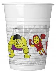8 Copos de plástico Avengers™