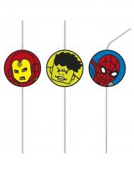 6 Palhinhas Avengers™ pop comic