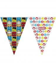 Grinalda de bandeirolas Avengers™ pop comic 2,3 x 25 cm