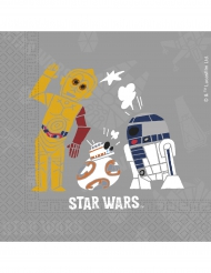 20 Guardanapos de papel Star Wars Forces™