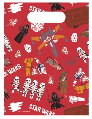 6 Sacos de festa Star Wars Forces™