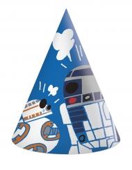 6 chapéus de cartão Star Wars Forces™