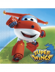 20 Guardanapos de papel Super Wings™