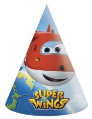 6 Chapéus de festa de cartão Super Wings™