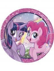 8 Pratos de cartão Pony & Friends™