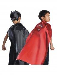 Capa reversível Batman™ e Superman™ Justice League™ criança