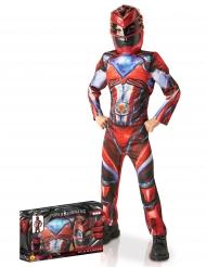 Disfarce luxo Power Rangers™ vermelho criança - Coffret